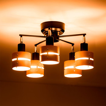 Large Modern Living Room Chandelier With Five Heads Lights Light Product