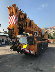 economical used 200 ton liebherr truck crane with good condition