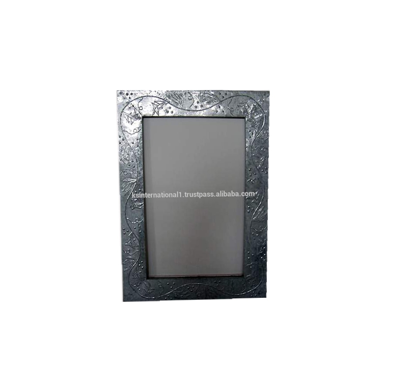 Wall mirror wholesale / large size Metal mirror frames black custom