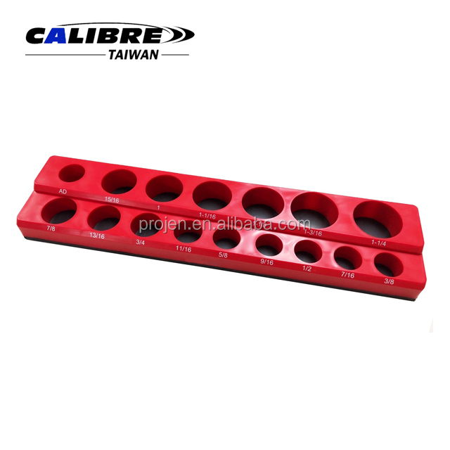 "CALIBRE 16PC 1/2""Dr. Deep & Shallow Magnetic Socket Holder"