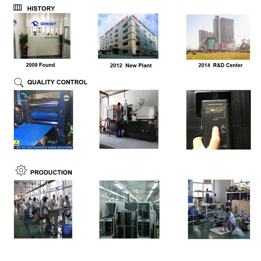 Il Prezzo All'ingrosso competitivo Antistatico Contenitore di Plastica ESD Box