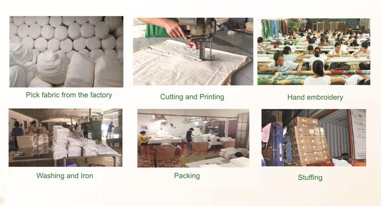 Diseño 100% algodón bordado a mano de dibujos animados sábana para niños Bebé Ropa de cama conjunto