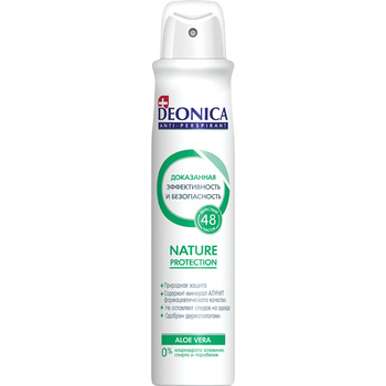 Deonica Nature protection Antiperspirant Spray, 200 ml