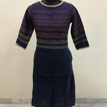 Lavanya Ready Embroidery Design Blue Colour Choli And Sleeve