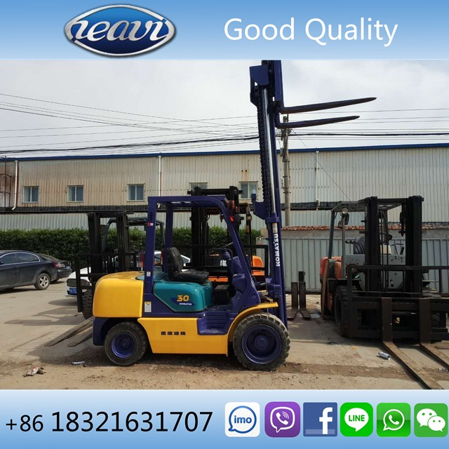 Used 3 ton TOYOTA/KOMATS/TCM/HELI FD30 Forklift for sale