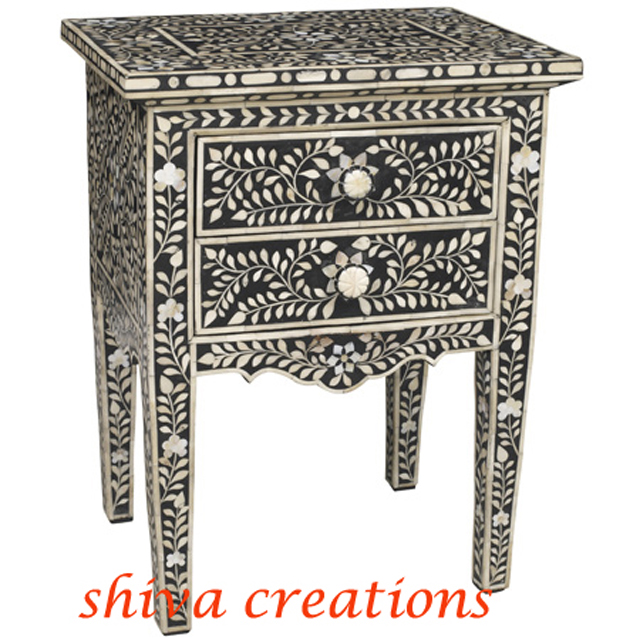 Mother Of Pearl Inlay Furniture Manufacturer Bone Indian