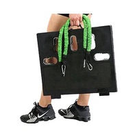 Portable Gym Home Workout Package 1 Set Of Resistance Bands Collapsible Board Body Workouts For Home Travel