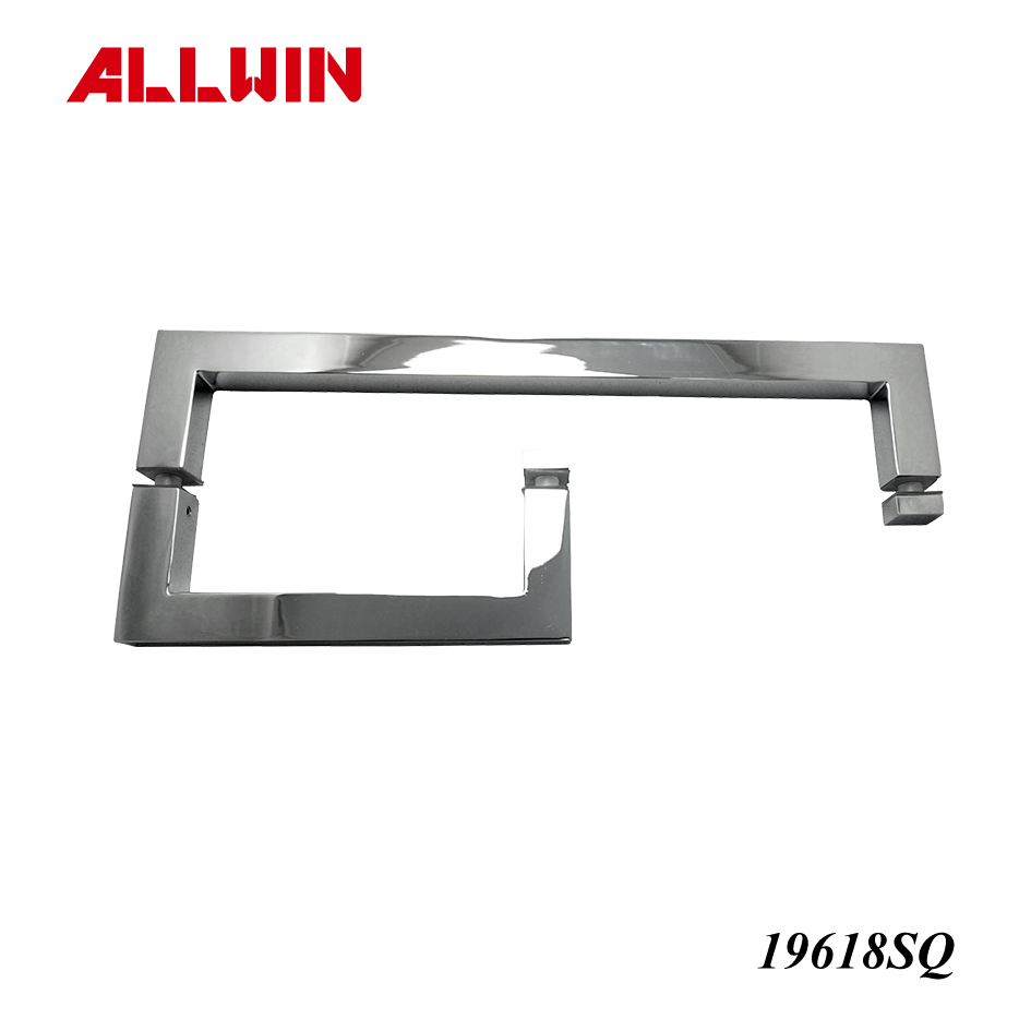 With Washer Square Combination Handle Towel Bar
