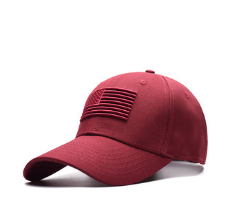 Unisex 100% Bisbol Outdoor Katun Mengangkat Bendera Bordir Snapback Fashion  Olahraga untuk Pria   Wanita 3c4e987e21