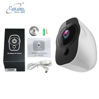 Relee Outdoor 1080p Full HD Battery Camera WiFi Wireless IP65 Waterproof IP Camera Indoor Home Security H.265 Low Power