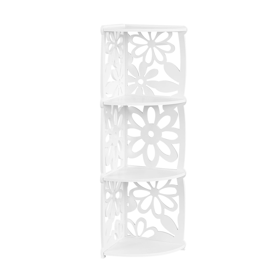 Buy 3 Shelf Wide Shelving Unit Three Shelf Corner Shelf In