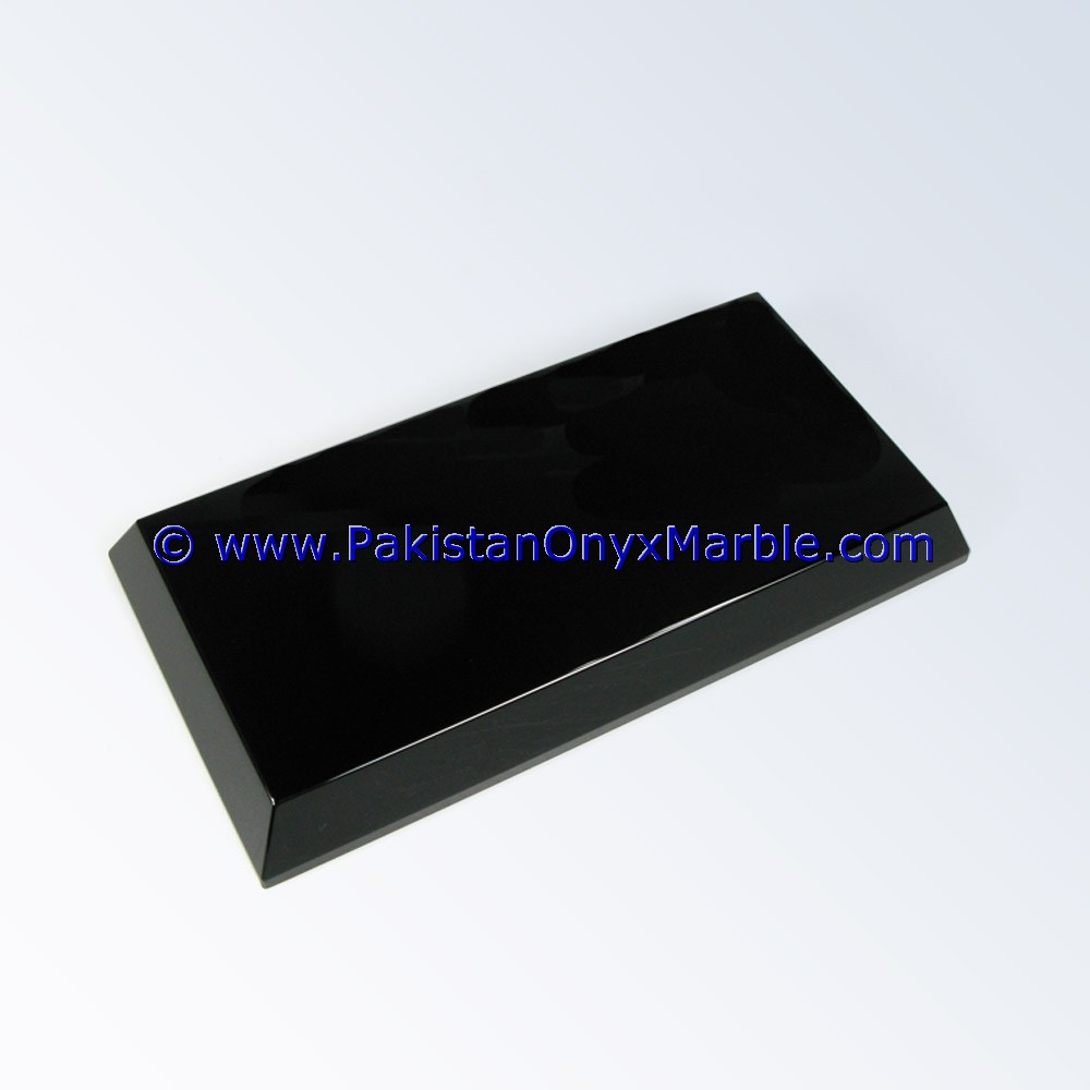 marble bases rectangle for custom awards trophy black