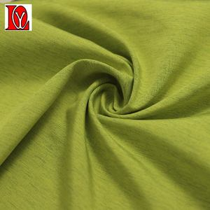 polyester taffeta woven fabric with heather