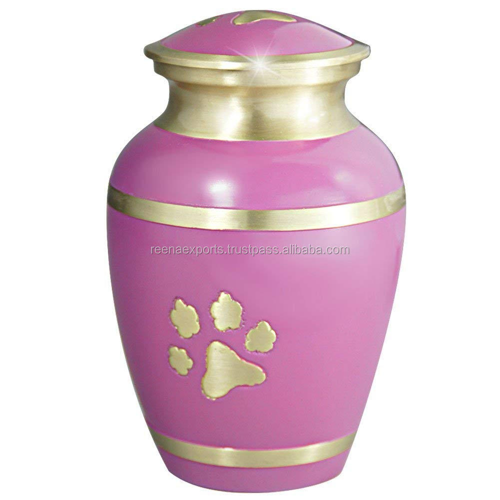 Wholesale Blue Fire Adult Cremation Urn ~ Aluminium Urns for Sale
