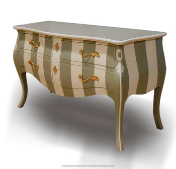 Jepara Furniture Commode / Chest Shabby Chic Color From Indonesia Furniture  Manufacturer.(Only For