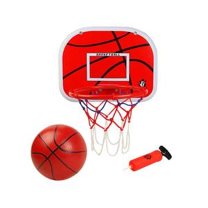 Basketball Hoop Indoor Outdoor Sport Games with Net Ball Pump Portable Basket Set Toys for Kids Boys Girls Age 6 7 8 Years Old