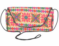 Indian ethnic embroidery design hand clutch bag sling bags for women handbags