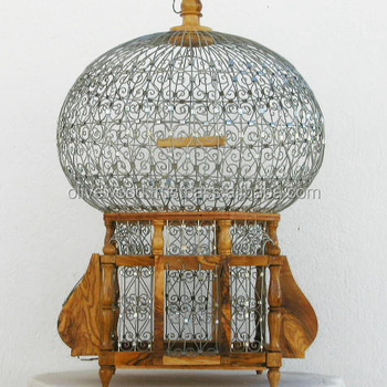 Olive Wood Bird Cage,Decorative Wooden Bird Cage - Buy Wooden Bird Cage,Big  Bird Cage,Bird Breeding Cage Product on Alibaba com