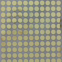 "Sticker dot Gold 10mm color coding labels permanent adhesive 3/8 inch "" dots"