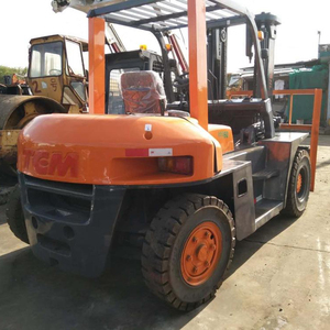 Hot Sale Second Hand China Diesel TCM 6T Forklift Truck with Good Quality in Shanghai for Sale