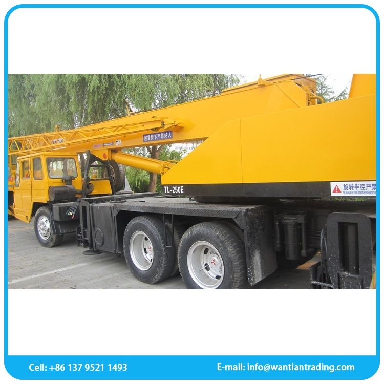 Low fuel consumption different kinds tadano cargo used crane
