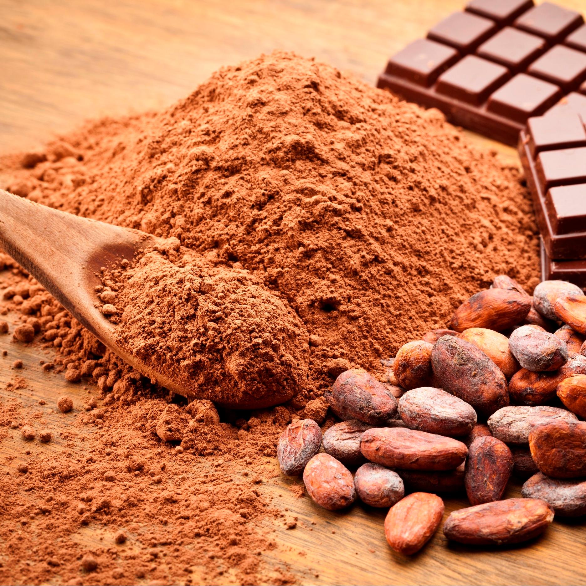 Картинка какао тертое