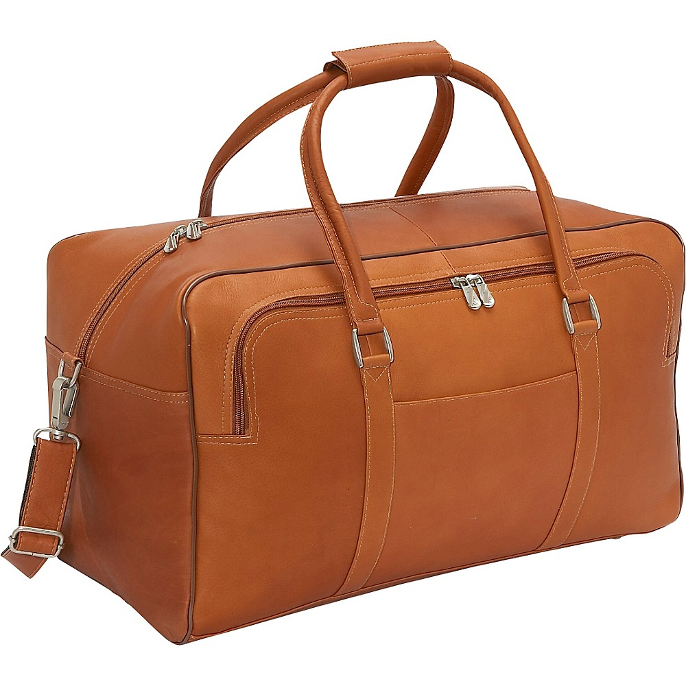 Travel Bag Duffel Bag Leather Faux Brown