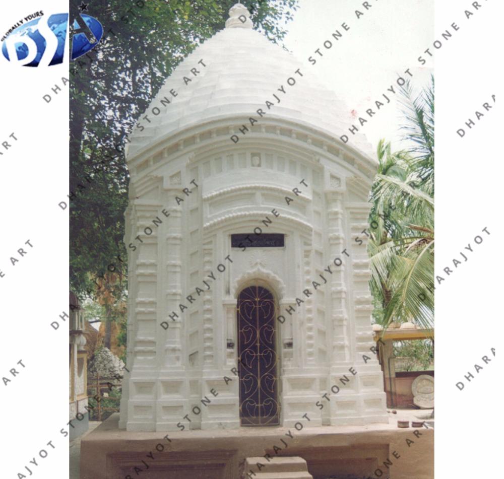 White Marble Carved Designing Temple Hindu In Pooja Room Pure Mandir