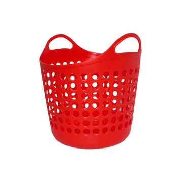 Basket Laundry Red Small