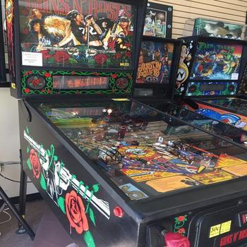 Guns N Roses Pinball Machine  - Buy Guns N Roses Pinball Machine Product on  Alibaba com