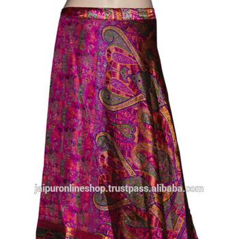 5c8e4af5c831d Jaipuronline shop sale!!!Silk Sarong Pareo Long Silk Wrap around Skirt
