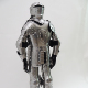 Medieval Knight Wearable Full size Suit Of Armor with Sword/Collectible Armour Costume,42""