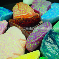 Synthetic Gemstone Opal Rough Raw Material stone Manufacture & supply wholesale Semi Precious Stones