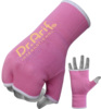 LADIES BOXING HAND INNER WRAP WOMEN GLOVES BANDAGE MMA PUNCH WRIST PINK
