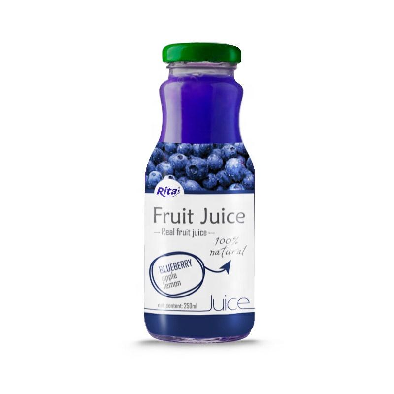 250ml Glass Bottle Blueberry Fruit Juice Drink - Buy Blueberry Juice,Pure  Blueberry Juice,Fruit Juice Product on Alibaba com