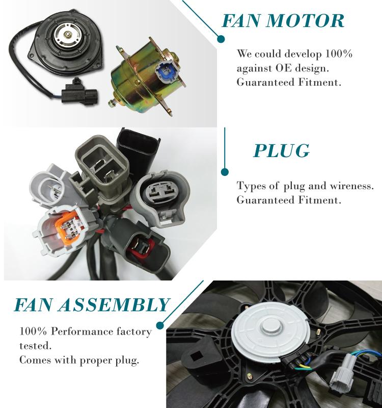 Genuine Nissan Parts 21481-8Z000 Radiator Cooling Fan Assembly