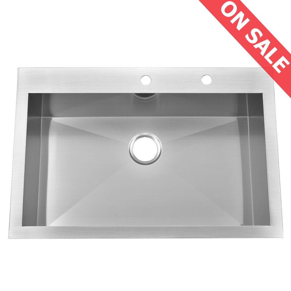 Decor Star PLATE 10B 10 Kitchen Sink Faucet Hole Cover Deck Plate  Escutcheon Brushed NickeL