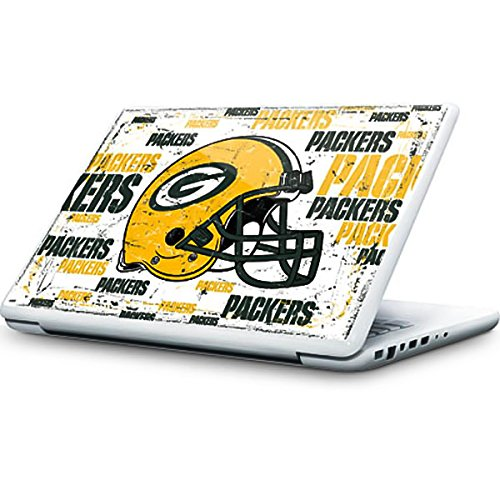 NFL Green Bay Packers MacBook 13-inch Skin - Green Bay Packers - Blast Vinyl Decal Skin For Your MacBook 13-inch