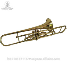 Ottone Qualità di Banda Marching <span class=keywords><strong>Trombone</strong></span> Bb 3 Valvola Hard Case + M/P