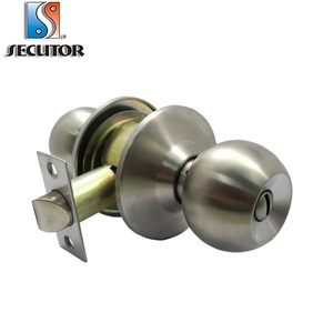 Easy Installation Cylindrical One Sided Door Knob/ Knob Cylinder Lock Home  Door Lock Door Knob Lock Sets