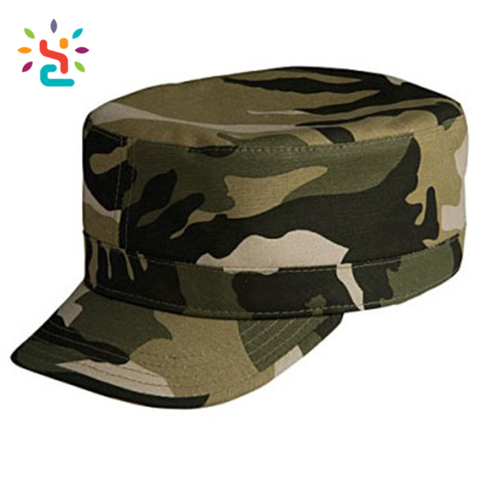 Mens Embroidery Indian Army Cap Custom Camo Unisex Blank Fashion Cool  Military Navy Stitches Contrast Military Cap - Buy Embroidery Army Cap,Camo
