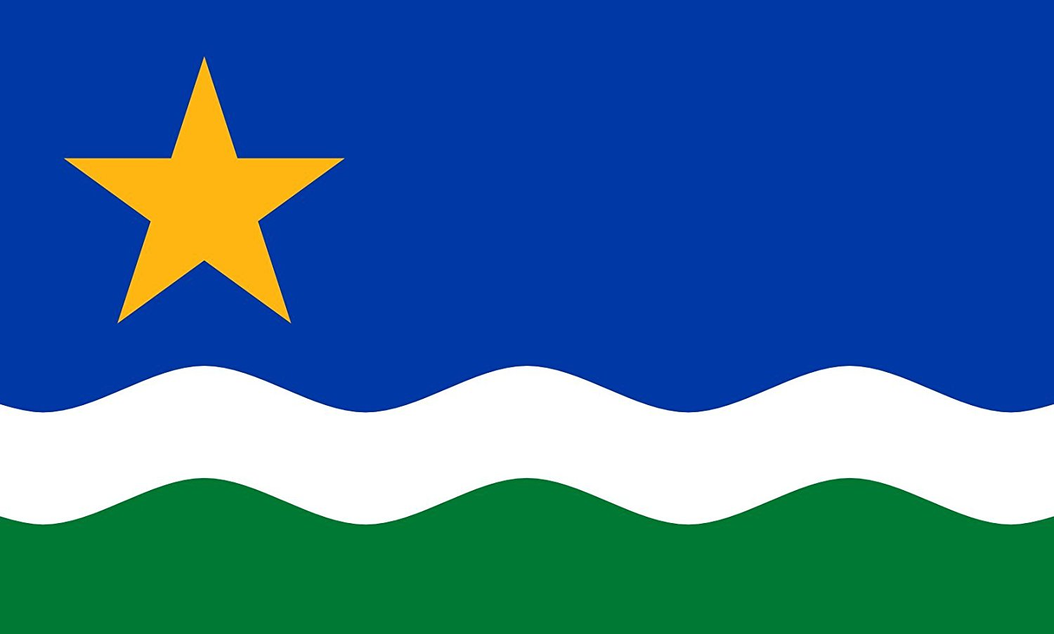 magFlags Large Flag Minnesota North Star | North Star Flag | landscape flag | 1.35qm | 14.5sqft | 90x150cm | 3x5ft -- 100% Made in Germany -- long lasting outdoor flag
