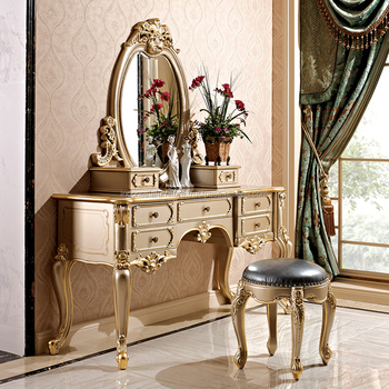 Strange European Dresser Small Apartment Solid Carved Dressing Table Princess Dresser Makeup Mirror Makeup Stool Set Dresser Buy Makeup Dresser With Dailytribune Chair Design For Home Dailytribuneorg