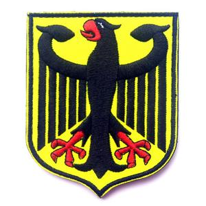 Germany Coat of Arms Patch German Eagle Shield Embroidered Badge