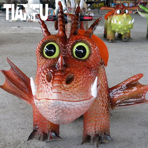 2019 Zigong Tianfu shopping mall rides dinosaur kiddie rides for sale by remote control