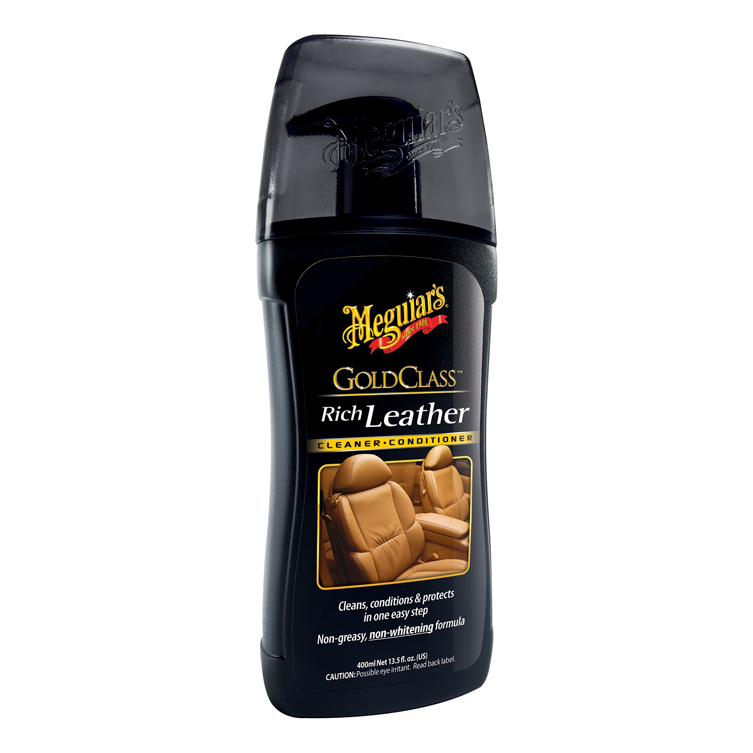 Meguiar's G17914 Gold Class Rich Leather Cleaner & Conditioner - 13.5 oz.