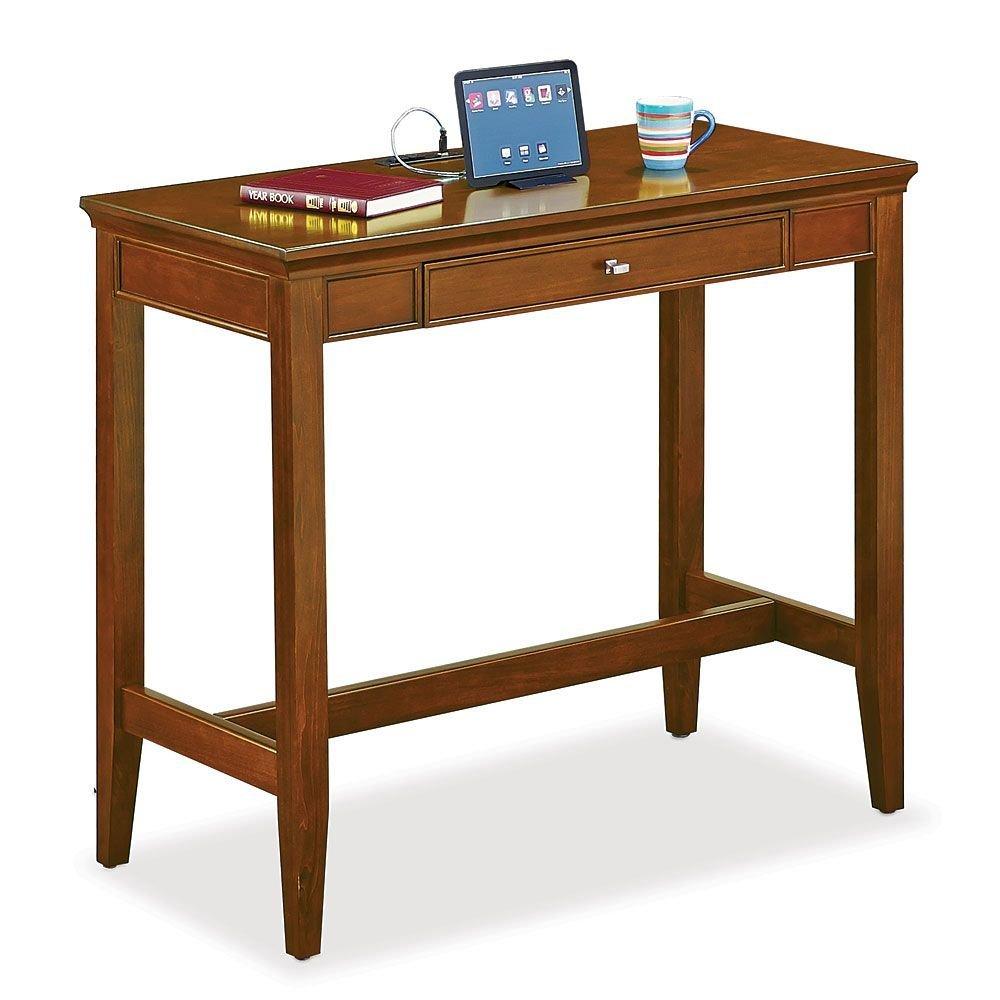 "48"" W Standing Height Desk Light Chestnut Cherry Dimensions: 48""W x 24""D x 42""H Weight: 145 lbs."