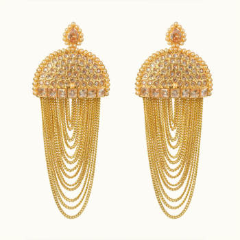 Alluring Design Fashion Gold Plated Earring At Reliable Price 10697 Jewelry Er Simple Designs For Women