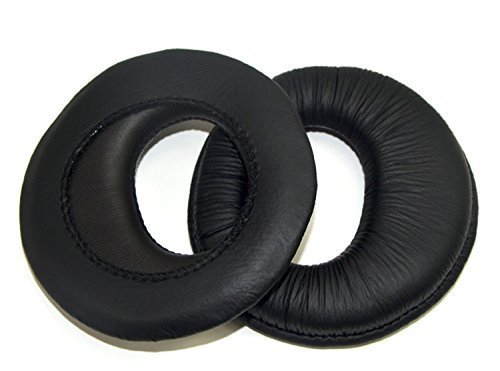 Black Replacement Foam Earpads Pillow Ear Pads Cushions Cover Cups Repair Parts for Sony MDR-RF925RK MDR-RF970RK RF985R MDR-RF970R 960R RF925R RF860F RF985R Headphones