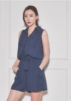855803e3b11 Summer New Fashion High quality women Sleeveless Short Jumpsuit for ladies